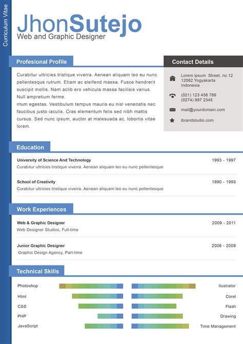Free Color Resume Templates Word by Plantilla De Curr 237 Culum Perfecto Modelo Curriculum