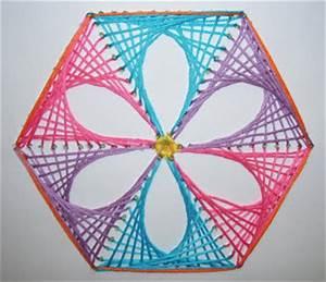 Teacher in the middle: String Art