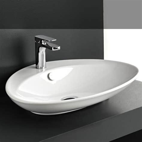 aufsatzwaschbecken oval mit hahnloch aufsatz waschbecken baederdesign info hersteller hidra ceram regia ceramica gsg