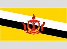 Brunei Flag, Flag of Brunei