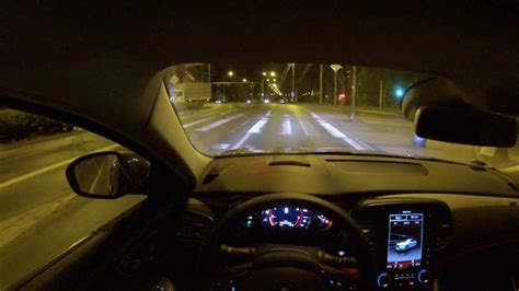 renault talisman 2017 night renault talisman initiale paris 200 hp night pov drive