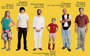 'Little Miss Sunshine' characters. | Little Miss Sunshine ...