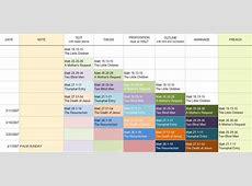 Preaching Calendar Template Calendar Template 2018