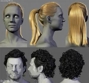 Male And Female Hairstyles By Woodys3d On DeviantART