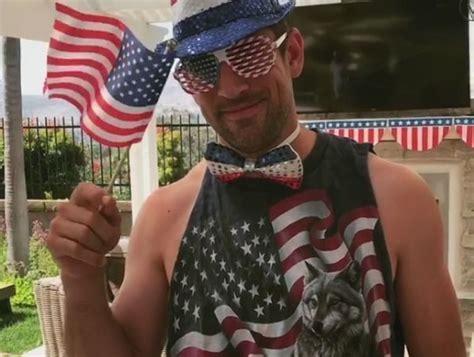 aaron rodgers ridiculous   july costume