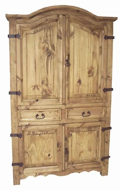Armoire Rustic Mexican Corner Furniture Bedroom Decor