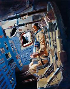 NASA Apollo Command Ship Interiors - Pics about space