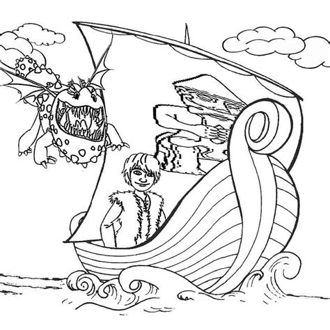 train  dragon coloring pages  kids  print