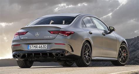 Окраска designo белый бриллиант, 2020 г.в. 2020 Mercedes-AMG CLA 35 and CLA 45 S: Thai prices and specs