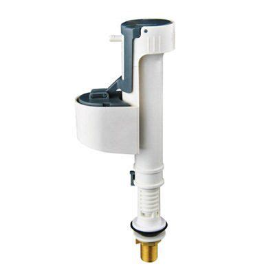 Waves cause the float valve to modulate and vary the flow. Diall Bottom Entry Adjustable Fill Valve | Departments ...