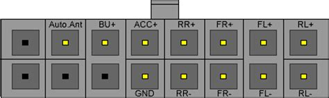 Kenwood Car Radio Stereo Audio Wiring Diagram Autoradio