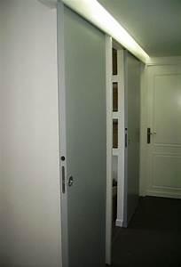 porte coulissante wc meilleures images d39inspiration With porte d entrée alu avec meuble de salle de bain largeur 70 cm