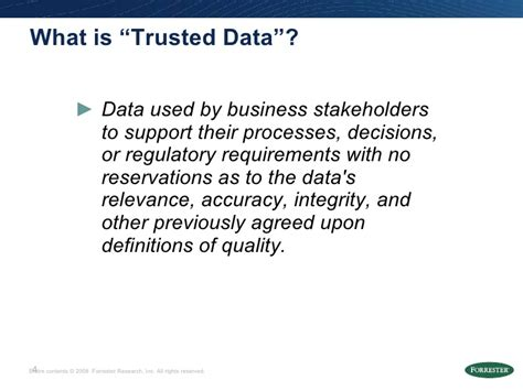 Rob Karel - Ensuring The Value Of Your Trusted Data - Data ...