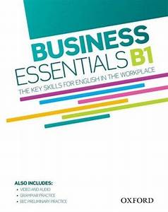 Business Essentials B1  Student U0026 39 S Book With Dvd And Audio