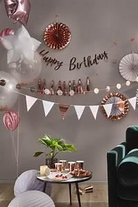 Décoration Anniversaire 25 Ans : decoration anniversaire rose gold et noir ~ Melissatoandfro.com Idées de Décoration