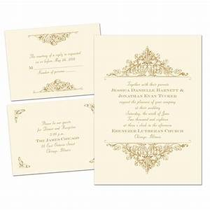 vintage victorian separate and send invitation ann39s With wedding invitations separate and send