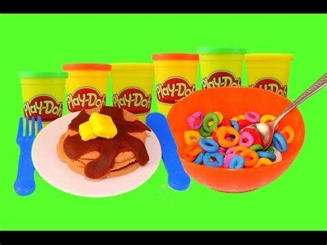 play doh cuisine disneycartoys vs alltoycollector play doh competition breakfast foods play doh fruit loops