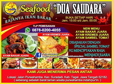 seafood dua saudara posts facebook