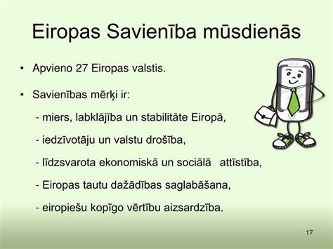 PPT - 1.3. Eiropas Savienības vēsture un Latvijas ceļš uz Eiropas Savienību PowerPoint ...