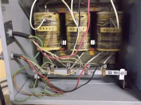 hammond three phase type transformer k030kdc 30 kva 240 480 delta delta ebay