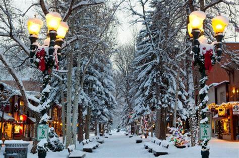 top  christmas towns  colorado