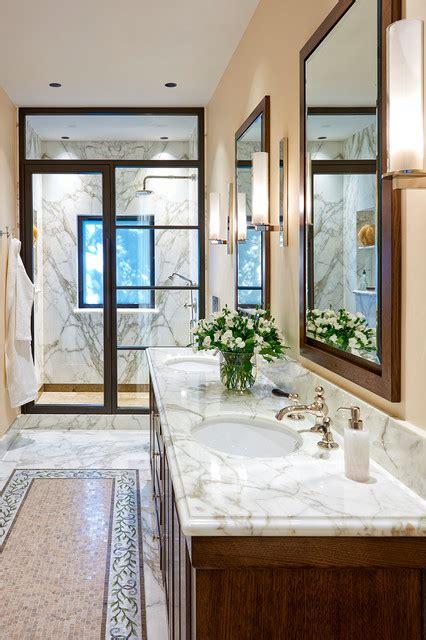 Design and implementation of kitchen for restaurant, hotels and villas. Italian Villa - Mediterranean - Bathroom - San Francisco - by Michael Merrill Design Studio, Inc