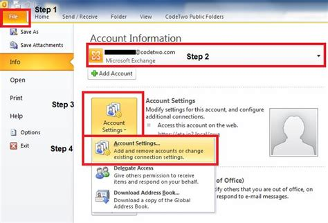 troline permission form how to remove an email account in outlook 2016 2013 or 2010