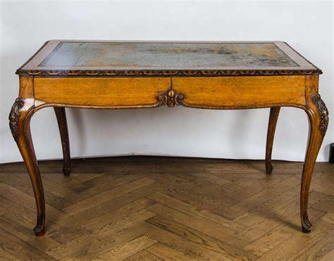 antique writing desk antique oak louis xv style writing desk at 1stdibs