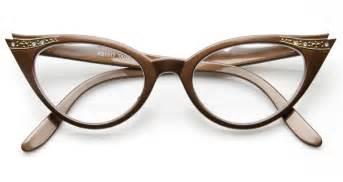 cat eye prescription glasses vintage brown rx optional cat eye glasses 8434zu
