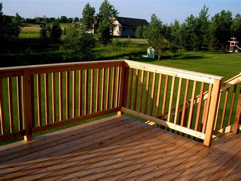 Cedar Deck Construction  Grady's Blog