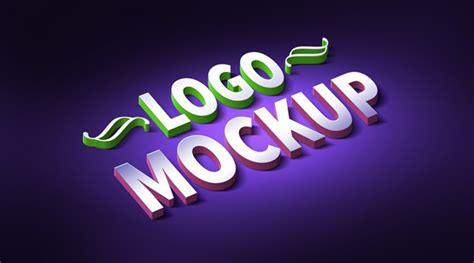 3d Logo Text Mockup Smart Object Psd 25 Free Psd Text Effects Designssave