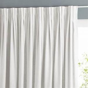 Rideau Hauteur 220 : rideau pur lin plis flamands colin ~ Teatrodelosmanantiales.com Idées de Décoration