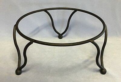 black iron pie plate holder rack  tier stand usa  picclick
