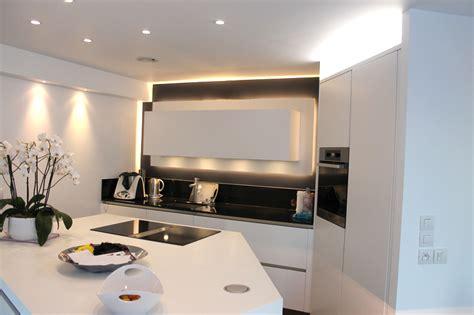 eclairage meuble cuisine cuisine lineaquattro sur mesure