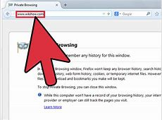 How to Do Private Browsing in Mozilla Firefox 4 Steps