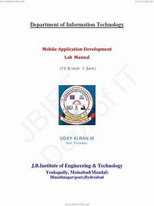 Lab Manual For Concepts Of Programming Languages Doc