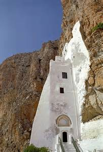 Amorgos Island Greece Monastery