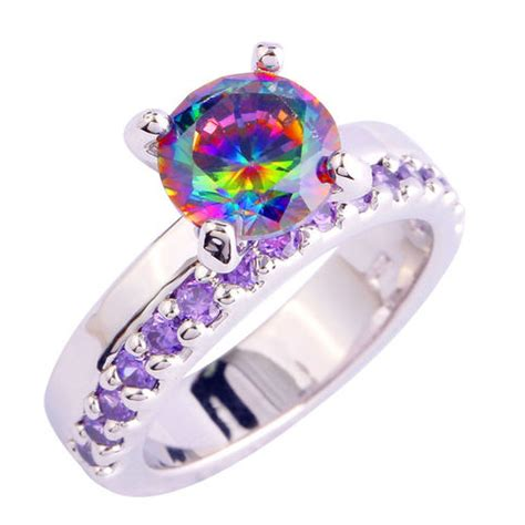 Rainbow Engagement Ring ( Ring Size 6 ) · Lindalicious. Expensive Rings. Notre Dame Rings. Infinity Engagement Rings. Butterfly Design Wedding Rings. Cast Iron Wedding Rings. Celebrity Gold Rings. Chris Ploof Wedding Rings. Bhima Jewellery Wedding Rings