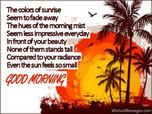 Good Morning Beautiful Poems for Her