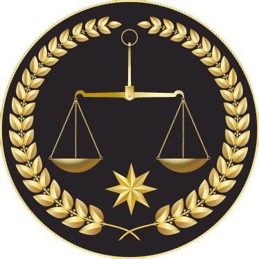 foto de Vinilo decorativo balanza justicia Balanza de la