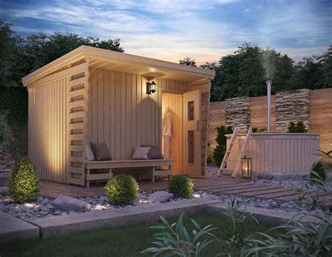 gartensauna mit vorraum gartensauna fides sauna vorraum und veranda auf ca 10 m 178 3 864 4320 perg willhaben
