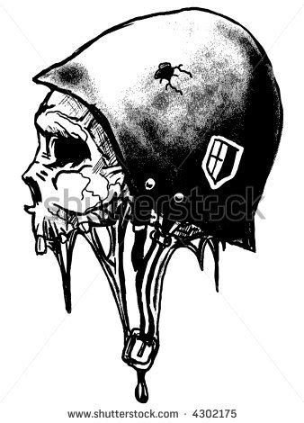 army skull tattoo designs