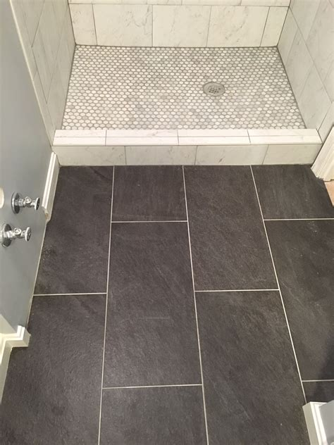 tile galvano charcoal tile applied   home space