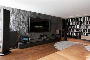 Steinwand Wohnzimmer Ideen : 92 bilder wohnzimmer mit steinwand chic interior hnliche tolle projekte und ideen wie im ~ Sanjose-hotels-ca.com Haus und Dekorationen