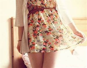 cute, dress, fashion, floral - image #535365 on Favim.com