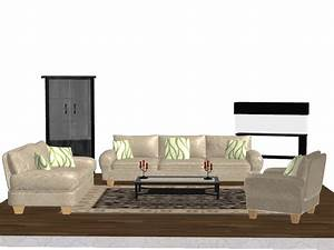 pack object living room furniture by kellwesker on With sweet home 3d living room furniture