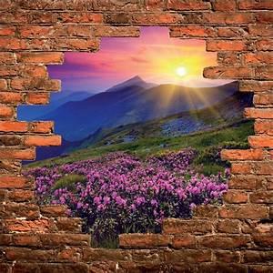 Tableau Trompe L Oeil Paysage : sticker mural trompe l 39 oeil paysage art d co stickers ~ Melissatoandfro.com Idées de Décoration