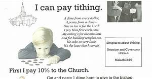 Primary 2 Manual Lesson 33 I Can Pay Tithing Journal Page