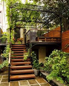 outdoor stairs : designs that heighten the beauty of your