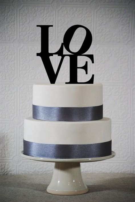 Love Wedding Cake Topper Philadelphia Love Wedding Cake